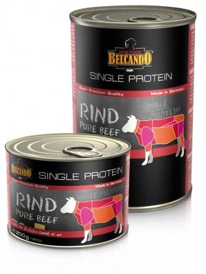 6er PACK Hundefutter Belcando Single Protein Rind hochwertige Fleischsorte