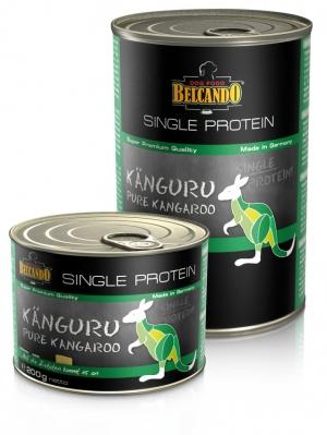 6er PACK Hundefutter Belcando Single Protein Känguru hochwertige Fleischsorte