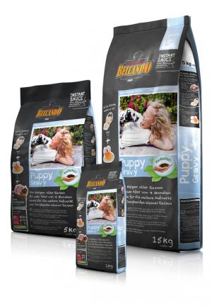 Hundefutter Belcando Puppy Gravy Trockenfutter für Welpen