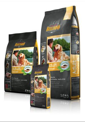 Hundefutter Belcando Adult Dinner für Hunde mit normaler Aktivität