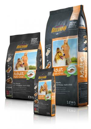 Hundefutter Belcando  Adult Multi - Croc Trockenfutter für normale Aktivität