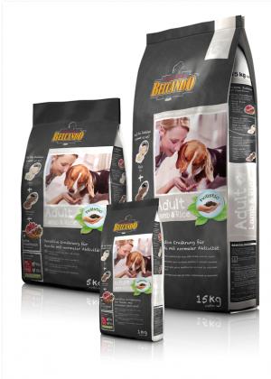 Hundefutter Belcando Adult Lamm & Reis Trockenfutter sensitive Ernährung/ normale Aktivität