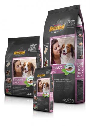 Hundefutter Belcando Finest Croc Trockenfutter für kleine/mittlere Rassen
