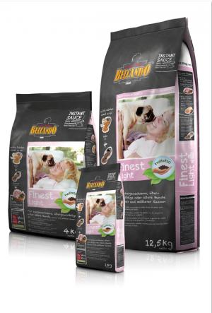 Hundefutter Belcando Finest Light Trockenfutter zum Abnehmen für kleine/ mittlere Rassen
