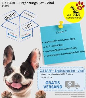 ZIZ BARF - Ergänzungs Set - Vital