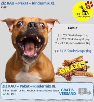 DAUERTIEFPREIS - ZIZ KAU - Paket - Rindermix XL