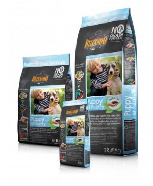 Hundefutter Belcando Puppy GF Poultry mit sensitivität auf Getreide