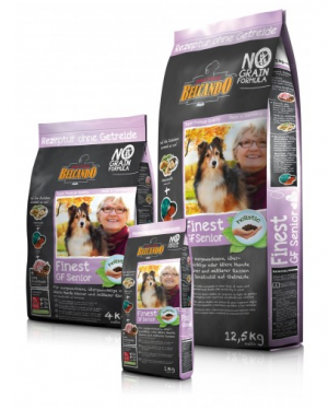 Hundefutter Belcando Finest Senior GF mit Sensitivität auf Getreide
