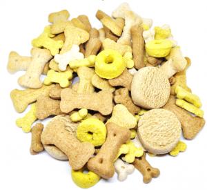 Hundefutter Hundekekse Mix natürlicher Kausnack