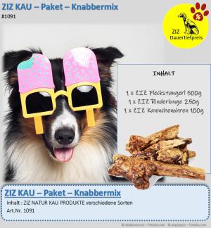 DAUERTIEFPREIS - ZIZ KAU - Paket - Knabbermix