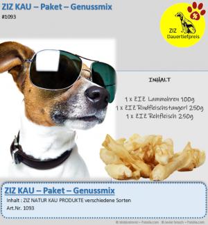 DAUERTIEFPREIS - ZIZ KAU - Paket - Genussmix