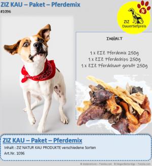 DAUERTIEFPREIS - ZIZ KAU - Paket - Pferdemix