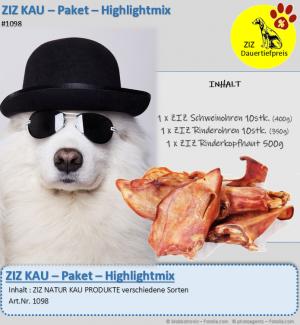 DAUERTIEFPREIS - ZIZ KAU - Paket - Highlightmix