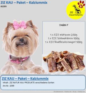DAUERTIEFPREIS - ZIZ KAU - Paket - Kalziummix