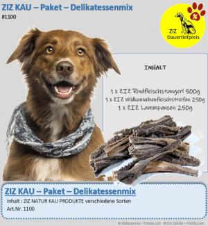 DAUERTIEFPREIS - ZIZ KAU - Paket - Delikatessenmix