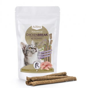 AniForte® NatureBreak ChickenSticks mit Katzenminze