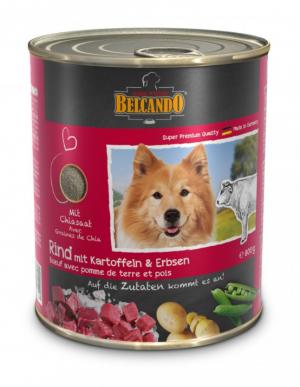 6er PACK Hundefutter Belcando Rind m. Kartoffel/Erbsen hochwertige Feuchtnahrung