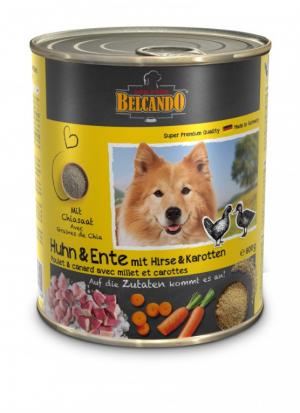 Hundefutter Belcando Huhn u. Ente m.Hirse & Karotten hochwertige Feuchtnahrung