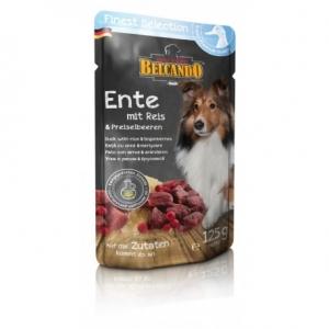 PACK Hundefutter Belcando Ente m. Reis/ Preiselbeeren im Frischebeutel
