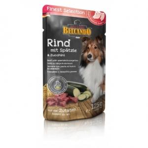 Hundefutter Belcando Rind u. Spätzle/ Zucchini  im Frischebeutel