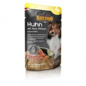 6er PACK Hundefutter Belcando Huhn u. Reis/ Zucchini/Möhren im Frischebeutel