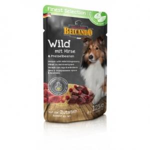 Hundefutter Belcando Wild m. Hirse/ Preiselbeeren im Frischebeutel