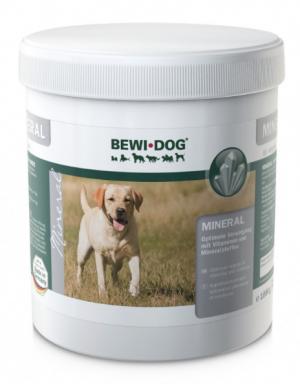 Hundefutter Bewi Dog Mineral & Vitamine 1kg zur Ergänzung
