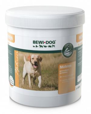 Hundefutter Bewi Dog Möhren 800g zur Ergänzung
