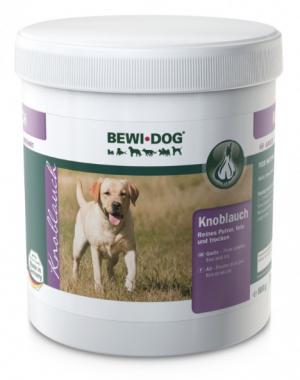 Hundefutter Bewi Dog Knoblauch 500g zur Ergänzung
