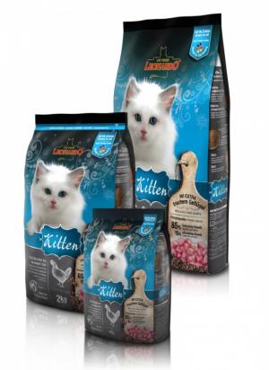 Katzenfutter Leonardo Kitten Trockenfutter für Babykätzchen