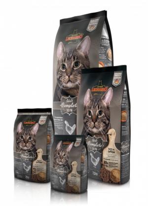 Katzenfutter Leonardo Adult Complete 32/16 Trockenfutter für normal aktive Katzen