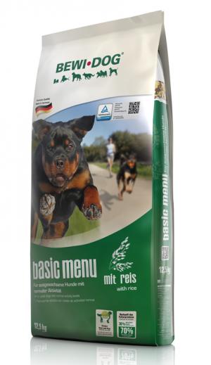 BEWI DOG® Basic Menue