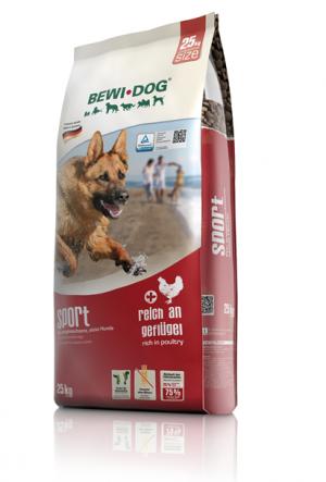 Hundefutter Bewi Dog Sport Trockenfutter für aktive Hunde