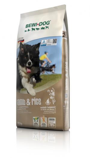 Hundefutter Bewi Dog Lamb & Reis 12,5kg Trockenfutter für sensitive Hunde