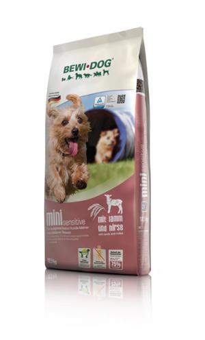 Hundefutter Bewi Dog Mini sensitive für kleine /mittlere Rassen