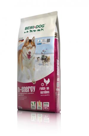 Hundefutter Bewi Dog H - Energie 12,5kg für hohe Aktivität