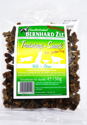 Hundefutter Trainings Snack 150g Belohnungs Häppchen