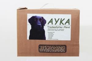 Hundefutter Ayka Trockenfutter Pferd 5kg für futterempfindliche Hunde