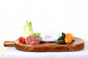 BARF - Rohfleischfütterung Ziegenfleisch 500g tiefgefrorern