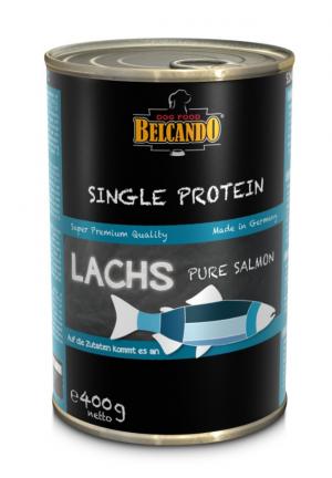 6er PACK Hundefutter Belcando Single Protein Lachs hochwertige Fleischsorte