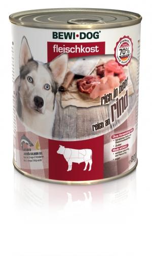 BEWI DOG® Fleischkost Reich an Rind