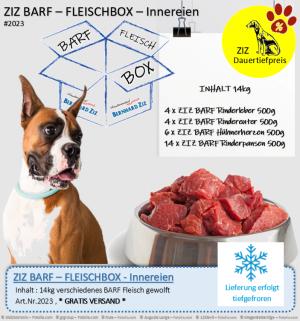 ZIZ BARF - FLEISCHBOX - Innereien