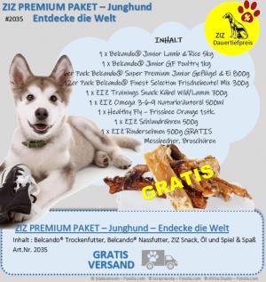 ZIZ PREMIUM - Paket - Junghund - Entdecke die Welt