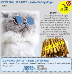 ZIZ PREMIUM - Paket - Katze Geflügeltiger